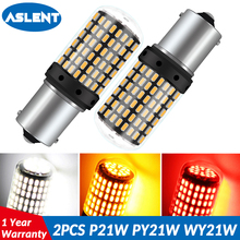 1157 led Super Bright 1156 BA15S P21W BAU15S PY21W LED Canbus Car Turn Lights T20 7440 W21W Lamp 12V NO Hyper Flash Amber White