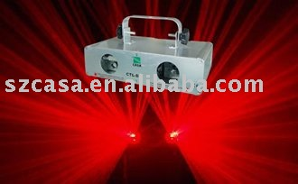 Double 80+80mW Red 650nm Stage Laser Light DMX SOUND AUTO DJ CLUB DISCO LIGHT-Free Shipping