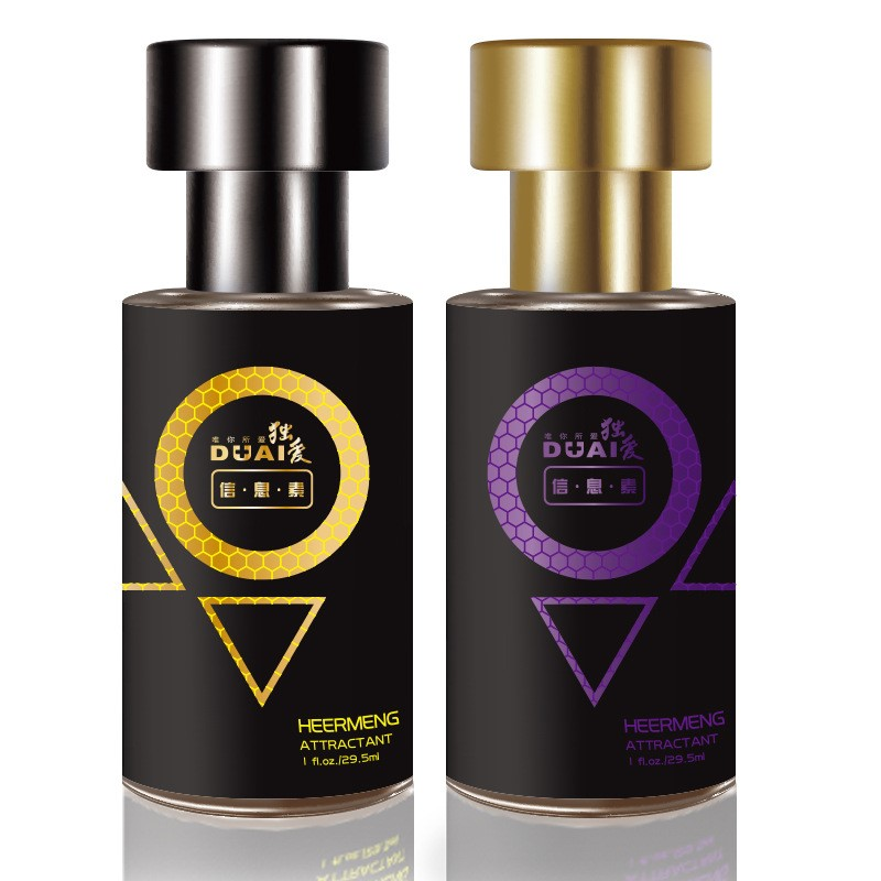 2pcs Perfum for Men Seduce Aphrodisiac Male Spray Oil and Pheromone Flirt Men Attract Girl fragrance Spray