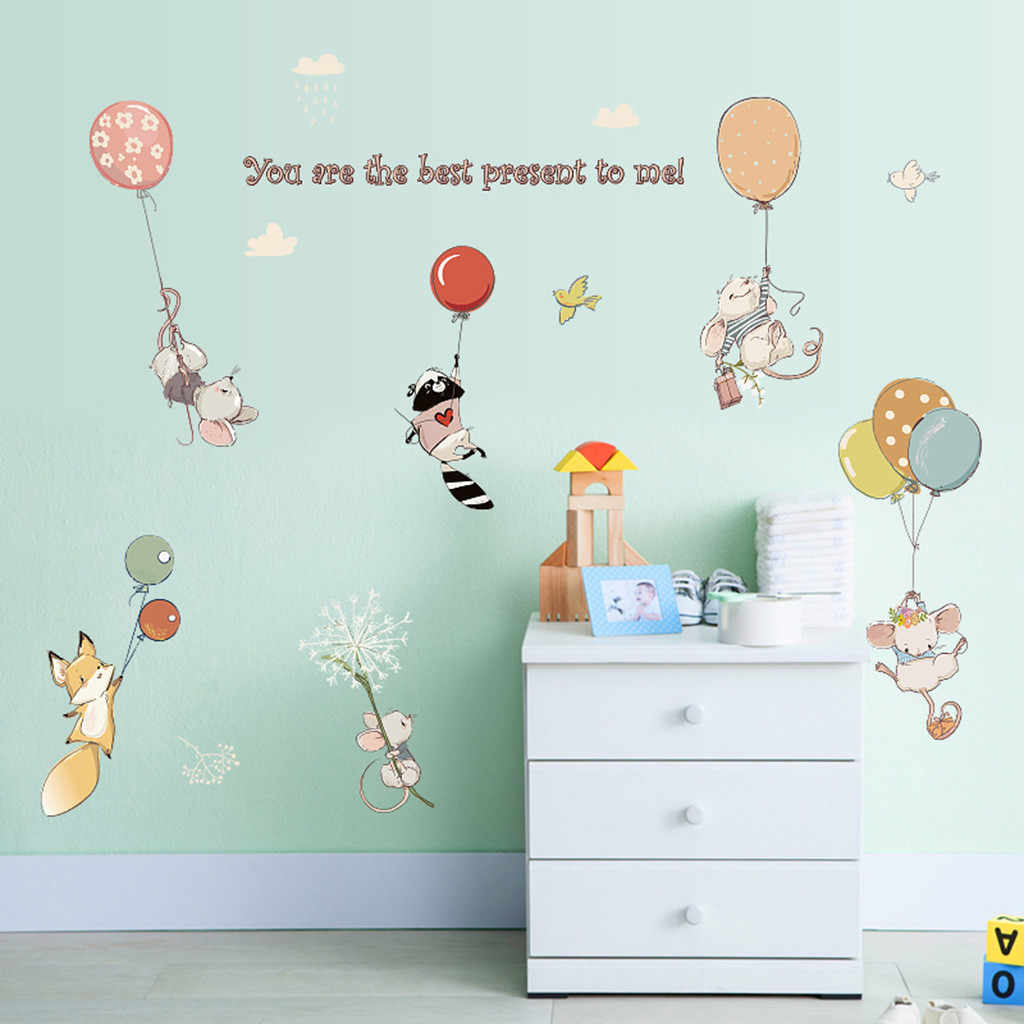 Modern Style Removable Decal Art Mural Wall Sticker Home Room DIY Decor Baby Nursery Child Kids Rooms Wallpaper Home Decor