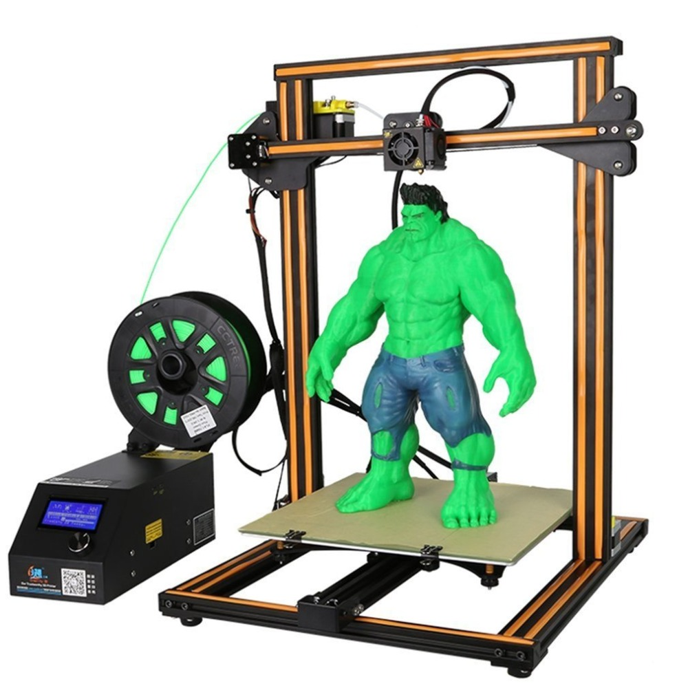 CR 10S High Precision DIY 3D Printer Kit 300 300 400mm Printing Size With Dual Z