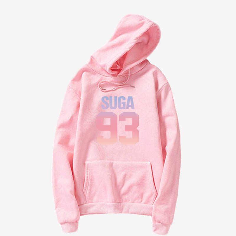 Jungkook Áo Kpop BangtanJUNGKOOK SUGA JHOPE V Jimin tấn J HY VỌNG cùng với chữ cái, balo EXO kpop quần áo khoác hoodie loveyour