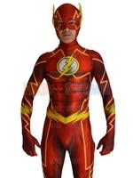 2016 newest flash costume spandex 3d shade fullbody halloween and cosplay flash font b superhero b.jpg 200x200