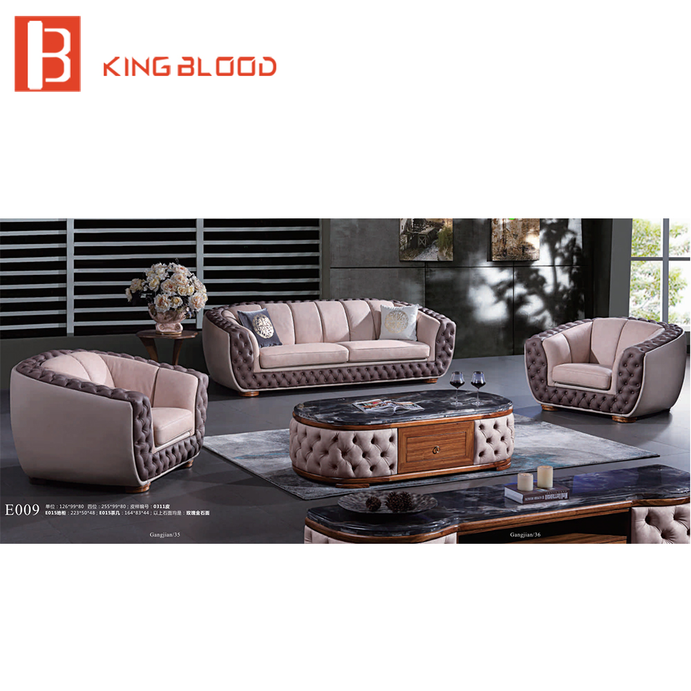 Meubles Ashley Sofa Lit Wooden Carved Sofa Furniture Couch Velvet Cloth Chairs Living Room