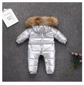 Image 2 - Combinaison dhiver pour bébés, nouveau né, vêtements chauds pour bébés, combinaison de neige pour tout petits, combinaison dhiver pour garçons, 803