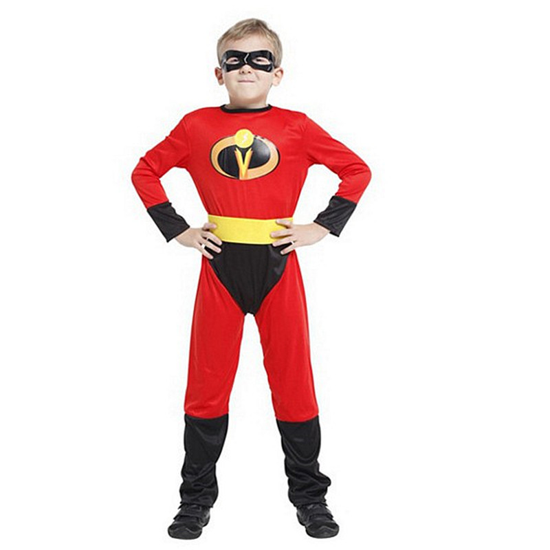 The Incredible The Fastest Dash Classic Child Kid Boys Superhero Costume
