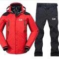 2018 NEUE Daiwa Angeln Kleidung Sets Männer Atmungsaktive Sport Tragen Set Wandern Winddicht Kleidung Angeln Jacke Und Hosen-in Anglerbekleidung aus Sport und Unterhaltung bei