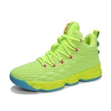 d8aa494a70381 Mvp Boy Newst Big Size green jordan lebron kyrie sneakers men zapatos  baloncesto