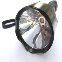 VUAN LED Torch Lamp C8 CREE XML T6 1-Mode OP reflector Warm white 3000K-3500K LED Flashlight Cycling Light
