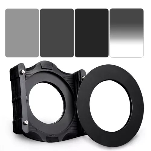 Zomei Square 100mm *150mm Neutral Density Filter Full Color Grey ND4 ND8 ND16 Gradient Grey ND 16 Set for Cokin Z pro.