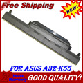 JIGU A32-K55 A33-K55 A41-K55 Laptop Battery For Asus A45 A55 A75 K45 K55 K75 X45 X55 X75 R400 R500 R700 U57  Series