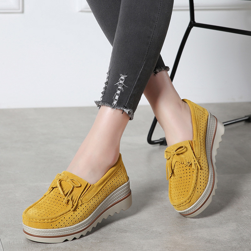 HX 3088 Platform Flats Shoes Women-20