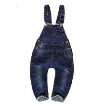 12 m-4 t Enfants vêtements 100% Coton Bébé Pantalon Long Salopette Filles Garçons Jeans Salopette Enfants Barboteuses Enfant En Bas Âge vêtements AA0798