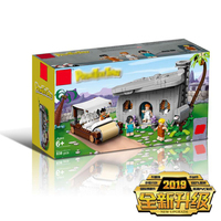New Ideas The Flintstones Model Set Compatible Legoingly Ideas 21316 Creators Building Blocks Bricks Educational Kids Toys Gifts