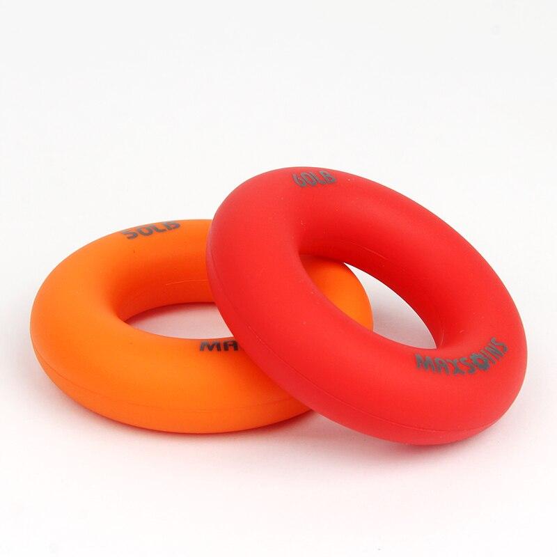 Trainer Grip Strength Rehabilitation Pow Stress Ring Ball 2