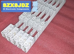 Novo 100 peças led barra de luz de fundo para konka kdl39ss662u 35018339 327mm 4 leds (1 led 6 v)