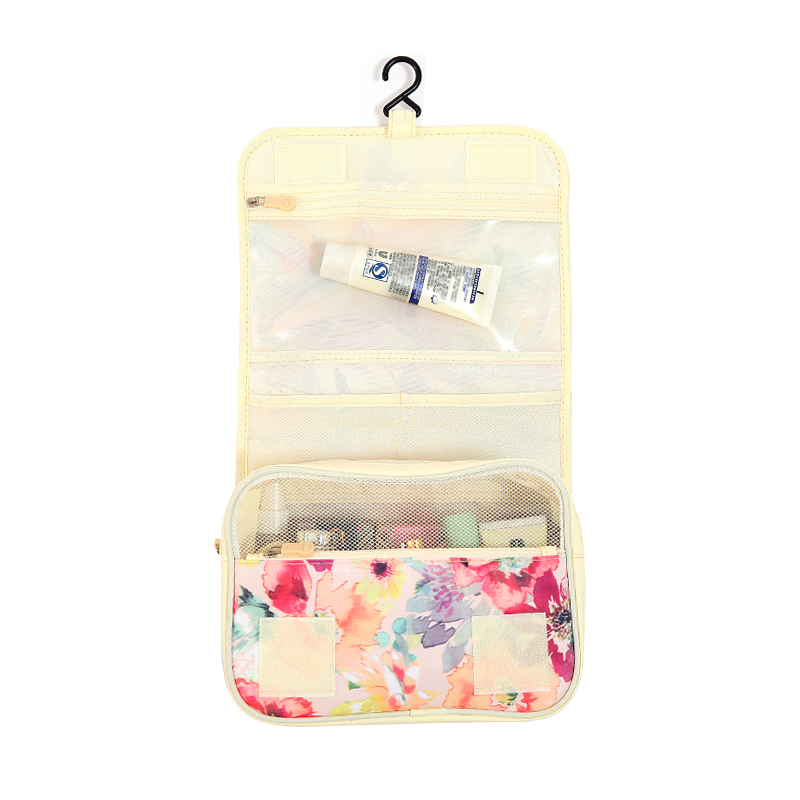 Women Zipper Hanging Cosmetic Toiletry Bags Toiletry Organizer Make Up Bag  Beautician Necessary Wash Pouch Travel Accessories-in Cosmetic Bags   Cases  from ... 2ad140e6985e2