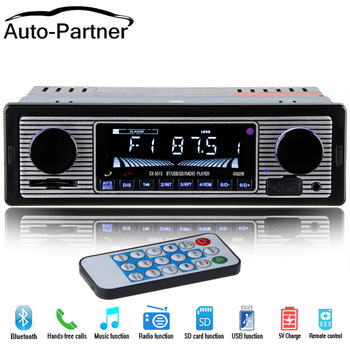 NEW 12V Car Radio Player Bluetooth Stereo FM MP3 USB SD AUX Audio Auto Electronics autoradio 1 DIN oto teypleri radio para carro kkmoon 1 din 12v univeral car dvd video player with bt 7010b vehicle mp3 stereo handfree autoradio audio wireless remote control