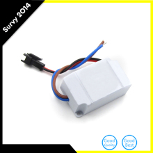 """1X AC 85V-265V to DC 2V-12V LED Electronic Transformer Power Supply Driver 3X1W"