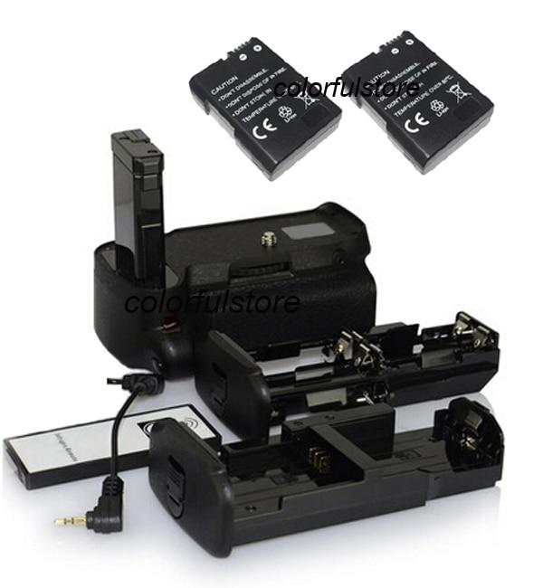 2-Step Vertical Shutter Battery Handle Hand Grip For Nikon D5500 DSLR as MB-D31 MBD31+AA Battery Holder+Remote Control+2 EN-EL14