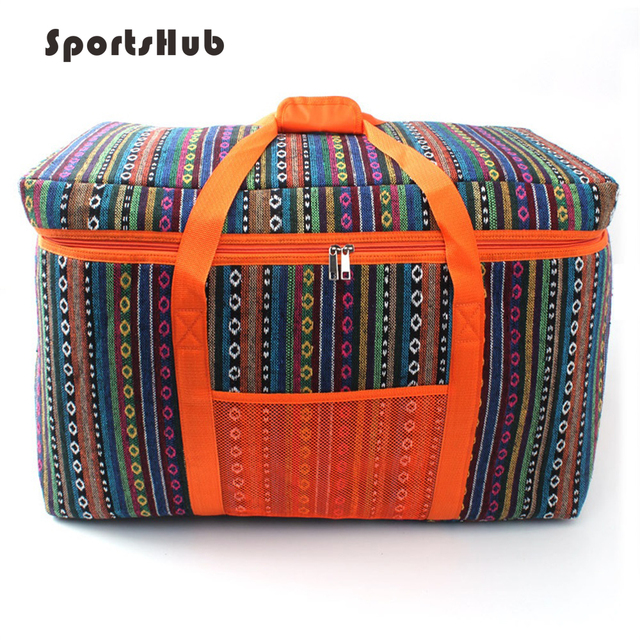 SPORTSHUB 66*41*33CM Ethnic Style Outdoor Thermal/Cooler Camping Picnic Bags SES0037