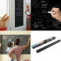 Hot Black 45x200/100cm Chalk Board Removable Vinyl Decals Blackboard Wall Sticker Kids Rooms New Decor