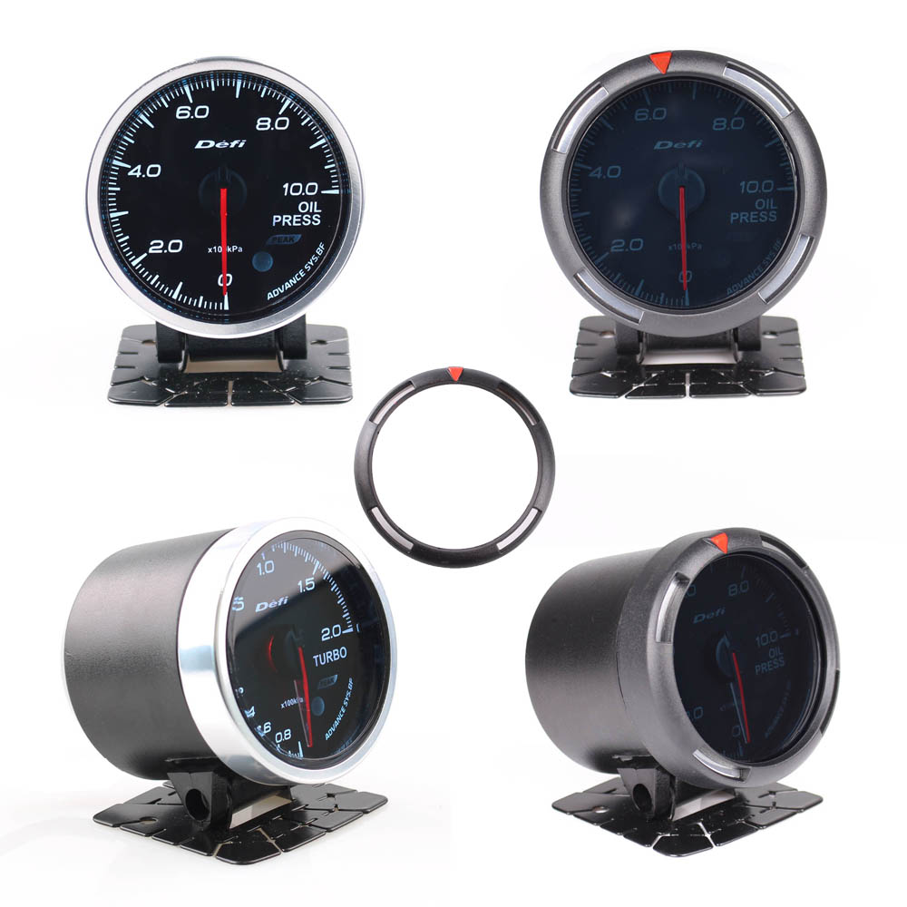 Image 5 - Defi Advance BF 2.5 Inch 60mm Auto Gauge High Performance Gauge Turbo Boost/Water temp/Oil Temp/Oil Press/FUEL PRESS-in Instruments from Automobiles & Motorcycles