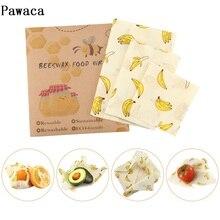 Многоразовая упаковка уплотнение сохранение продуктов в свежем состоянии оберточная крышка стрейч вакуумная пищевая обертка пчелиный воск ткань защита свежести пакет