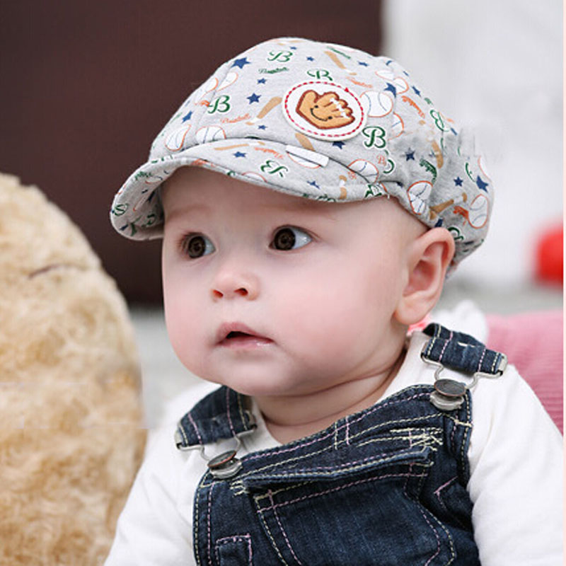 Fashion 2018 Toddler baby Infant baseball caps Peaked Beret Cap baby hats  for girls boys kids 039f58b8bc9