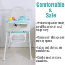 Bioby New Adjustable Folding Chairs foldable baby high chair cheap baby dining highchair Booster Seat