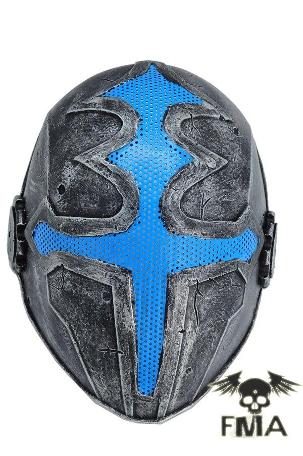 Les extérieurs FMA masque maille d'acier masque tactiques masque (Argent) engins de wargame casque livraison gratuite dans Casques de ski de Sports et loisirs