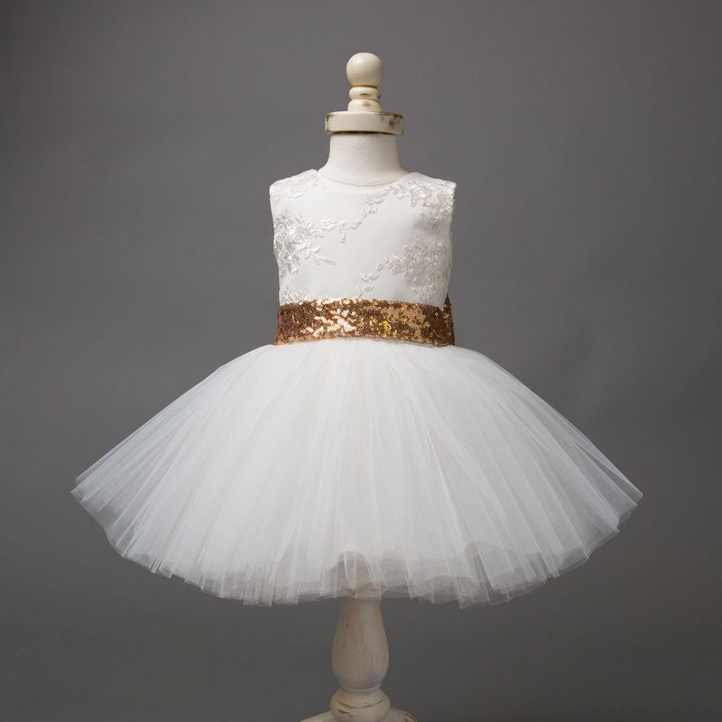 dbc0ba537ac5e US $5.63 37% OFF|0 10T New Fashion Sequin Flower Girl Dress Party Birthday  wedding princess Toddler baby Girls Clothes Children Kids Girl Dresses-in  ...