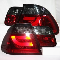 For BMW E46 320 328 325 LED Tail Lamp 2001 2005 Red Black Color