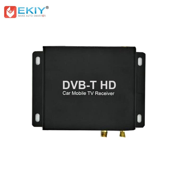 EKIY External DVB-T2 ISDB-T DVB-T for TV function Car DVD TV in Multimedia Support Remote Control DVD Screen Control