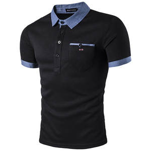7a24d39a654d6 short Sleeves polo shirts summer cotton men Eden park