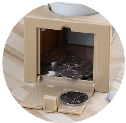 miúdo caixa de poupança de dinheiro moneybox
