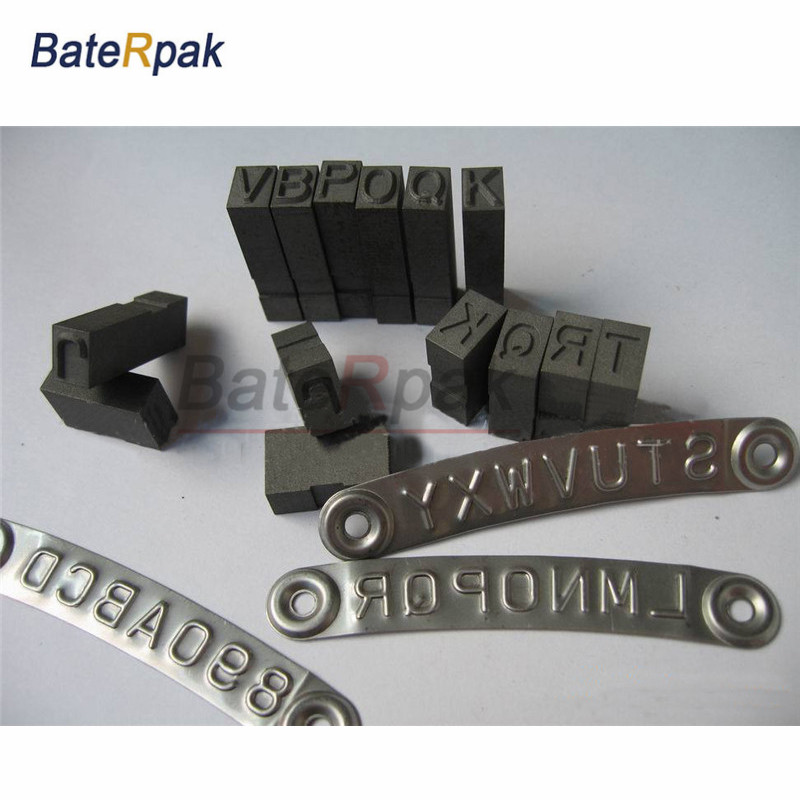 Bump steel character BateRady Flexible High quality handle stamp punch,COMBINATION type Metal stamping die steel code word punch punch stamp steel stamp punch 20pcs lot