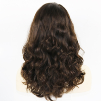 Eversilky 10 Inches to 30 Inches Wavy Kosher Wigs Raw Russian Human Hair Shevy Cap Jewish Wig with Silk Top Non Lace Wig