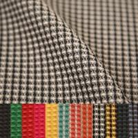 three dimensional relief lattice clothing fashion fabrics satin cotton handmade DIY jacquard fabric wholesale coat cloth