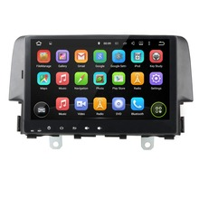 Android 5.1 Quad Core Car Video GPS Navi for Honda Civic 2006-2011 10.1 inch Capacitive Touch screen 1024 *600 RDS