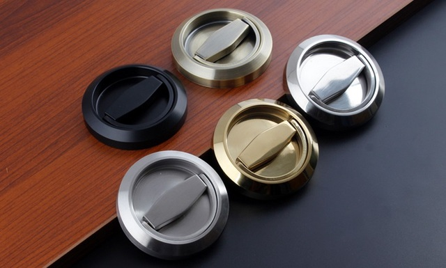 Door Handle Knob Pull Ring Only Pull---NO lock body