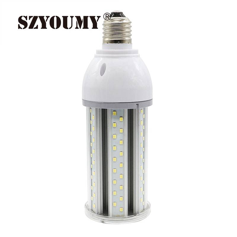 4pcs Outdoor Ip65 Waterproof High Power Led Corn Light 55w 65w 162 Leds 5730 Ac85-265v E27 E40 High Bay Yard Garden Corn Lamp Light Bulbs