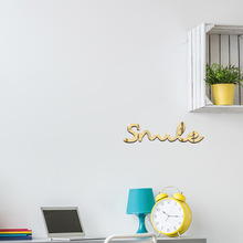 Letters Acrylic Wall Stickers Decal Home Decor 3D Mirror Wall Stickers DIY Living Room Decoration Pattern Decor flower pattern acrylic mirror wall stickers butterfly 3d mirror stickers living room bedroom wall decor wall lace decoration
