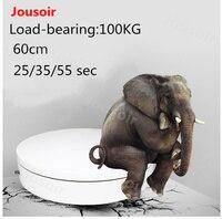 Регулируемый Скорость Дисплей Стенд поворотный грампластинок быстрее, Электрический Дисплей Таблица Вращающийся диск большой несущей 100 к