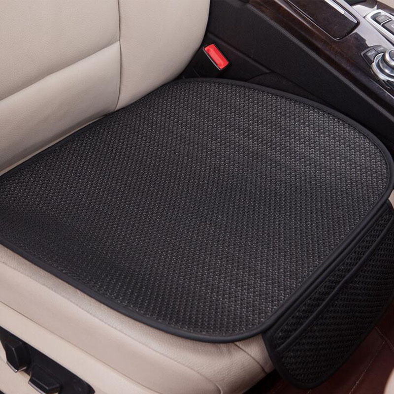 Car Seat Coves Protector Mat Auto Front Seat Single Ice Silk Covers Fit Most Vehicles Back Seat Covers Non-slip car seat cover