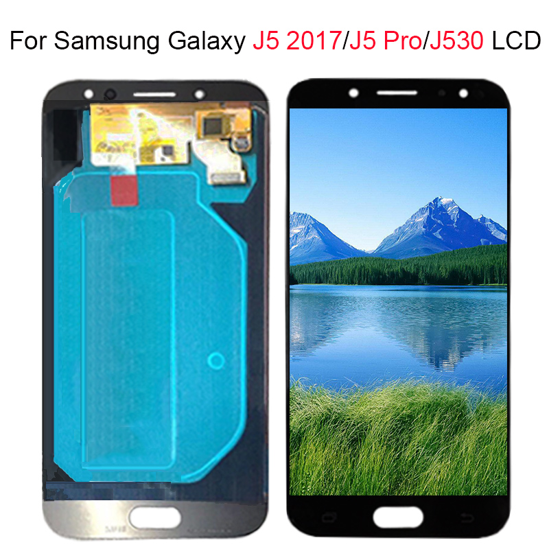 LCD réglable pour Galaxy J530 2017 pour Samsung J5 2017 écran tactile numériseur J5 Pro J530 J530F LCD 5.2 ''pouces