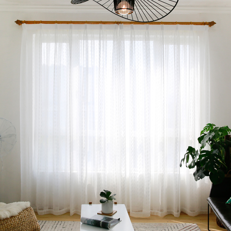 Прозрачные белые занавески для кухни в виде капель curtian для гостиной, японская прозрачная вуаль, оконная тюль на заказ