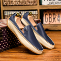 2017 Men Casual Shoes Summer Leather Loafers Male Work Shoes Flats Non Slip Driving Shoe Breathable Moccasins Big Size 38-47