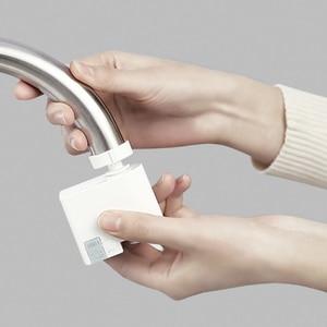 Image 4 - מקורי Xiaomi Mijia ZJ תחושה אוטומטית אינפרא אדום אינדוקציה מים חיסכון מכשיר מים מפזר מטבח אמבטיה כיור Fauce