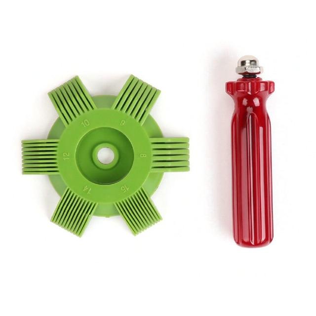 Newest Universal Plastic Car Ac Radiator Condenser Evaporator Fin